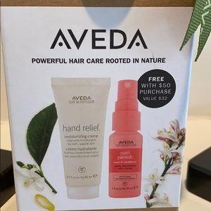 NEW! AVEDA Hand Relief Cream & Hair Conditioner